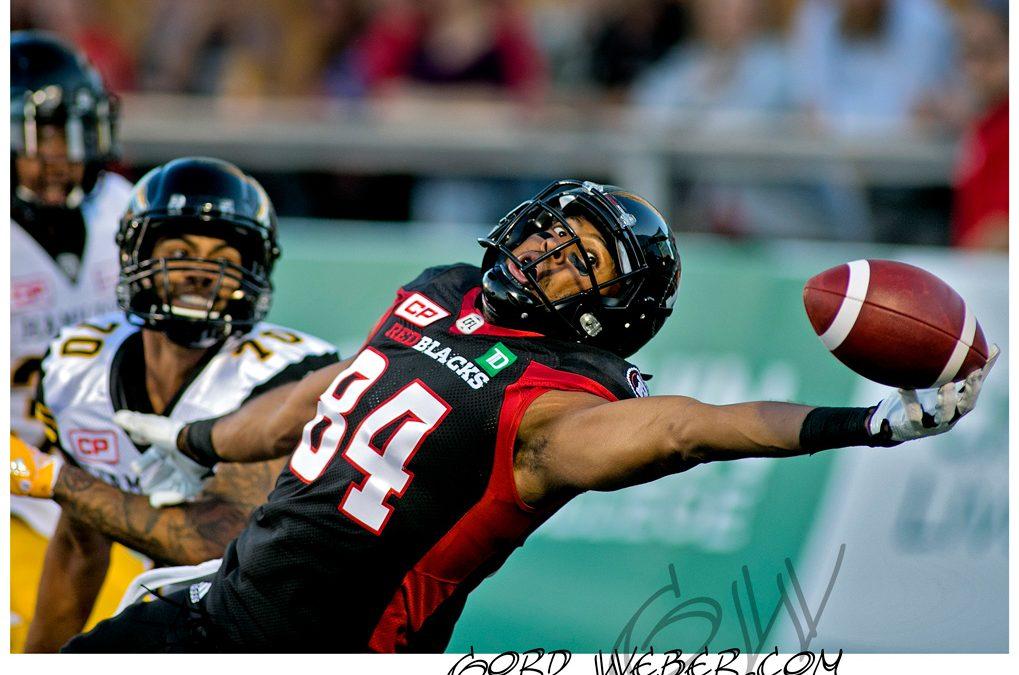 Ottawa Redblacks vs Hamilton Tigercats